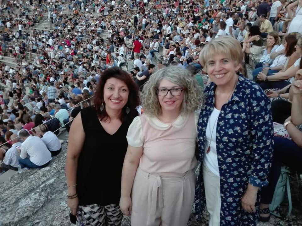 Σύνδεσμος Φιλολόγων Πύργου –Ολυμπίας: Επιτυχημένη η διήμερη θεατρική εξόρμηση για την παράσταση «Οιδίπους Τύραννος» σε Ναύπλιο -Επίδαυρο (Photos)