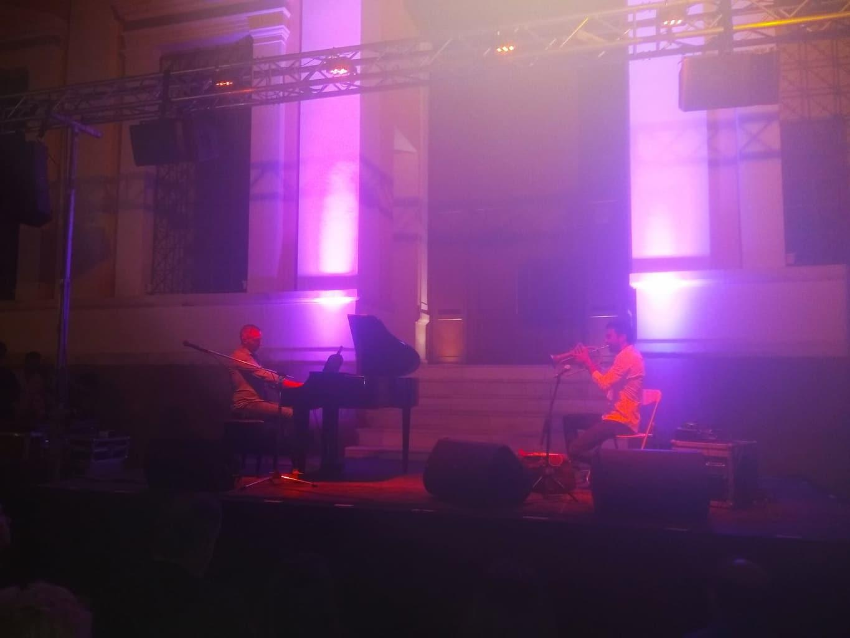 Πύργος: Μάγεψαν το κοινό σε μια υπέροχη μουσική βραδιά με τρομπέτα και πιάνο οι εξαιρετικοί Ηλείοι μουσικοί Ανδρέας Πολυζωγόπουλος και Χρήστος Τσατσαμπάς (Photos)