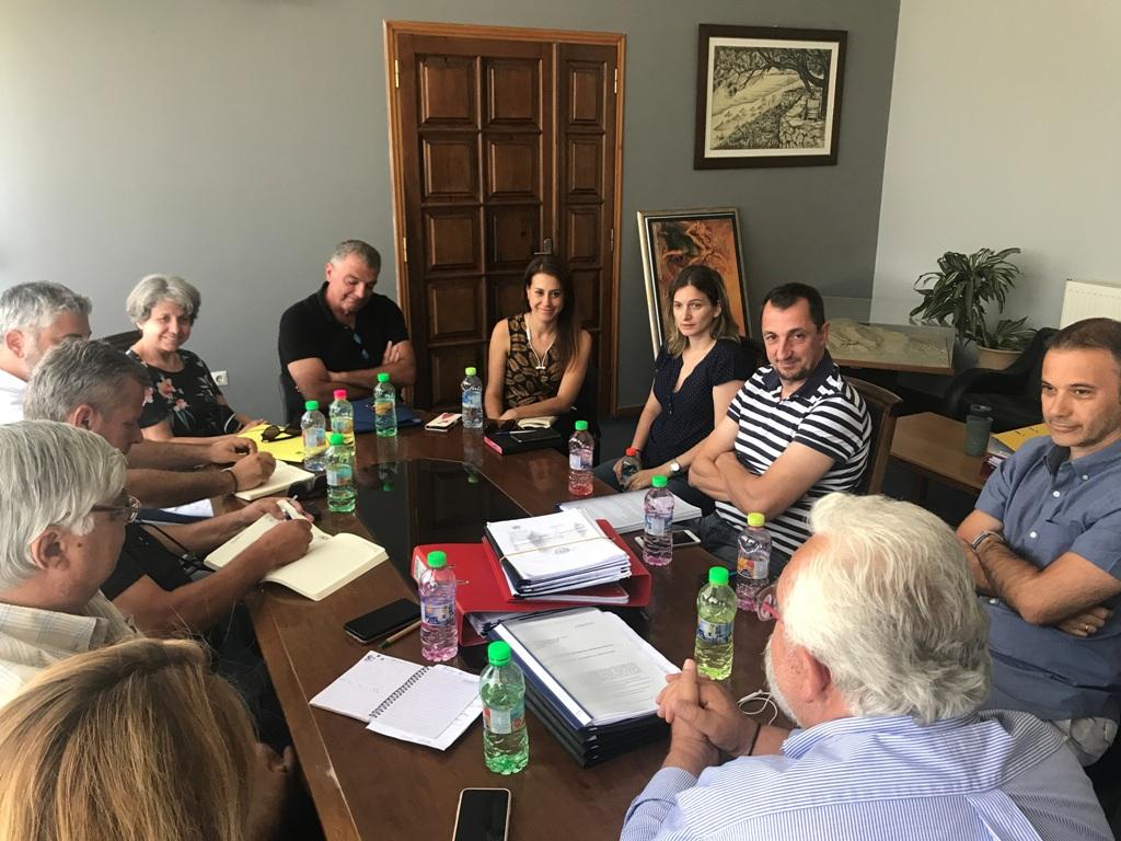 Ηλεία: Συνεχίζεται το έργο της Μονάδας Επεξεργασίας Απορριμμάτων στην Τριανταφυλλιά- Πραγματοποίηθηκε η πέμπτη συνάντηση των εμπλεκομένων φορέων