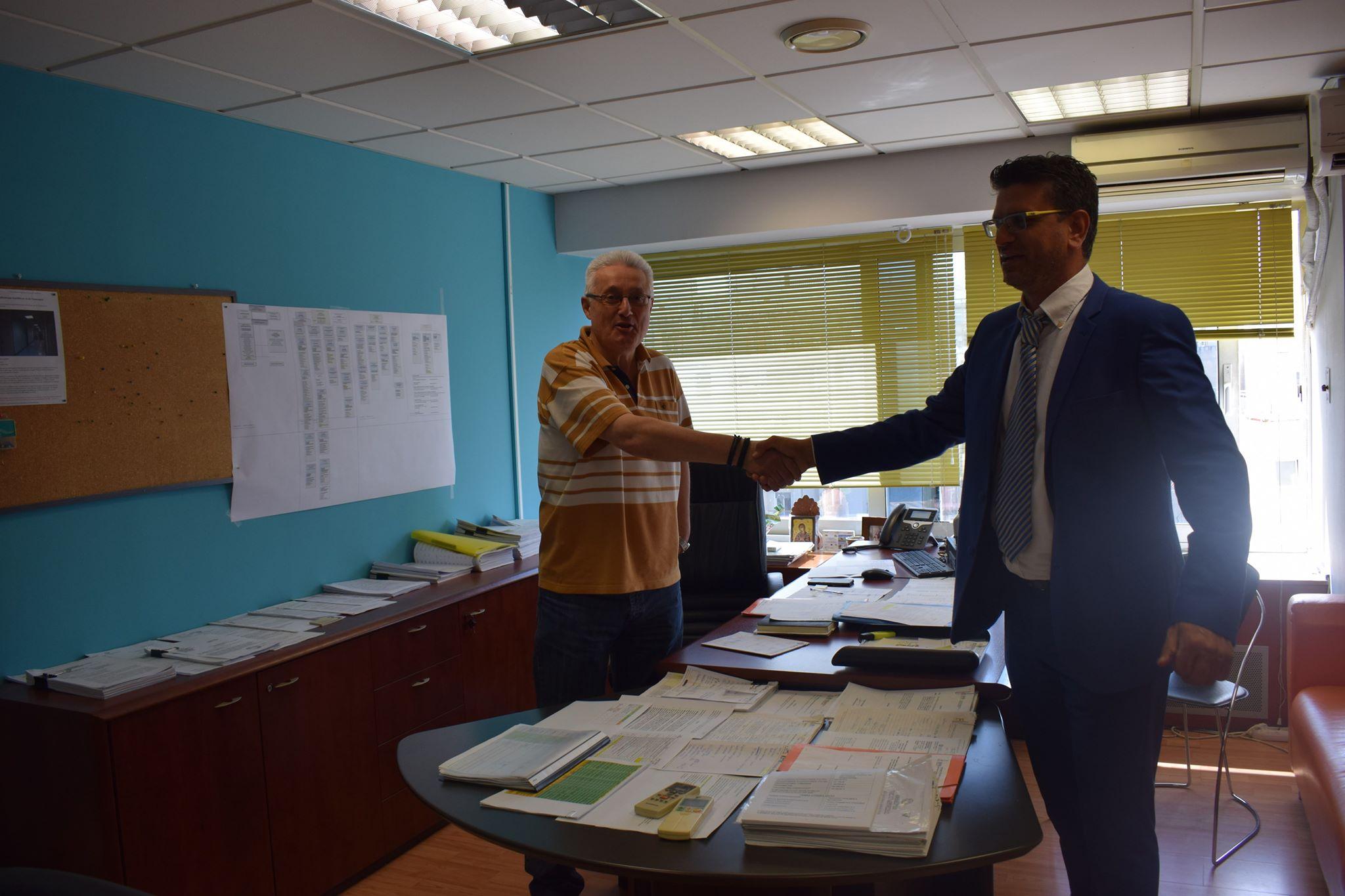 Δήμος Ανδραβίδας-Κυλλήνης: Συναντήσεις Δημάρχου Γιάννη Λέντζα στην ΚΤΥΠ - Ξεκινούν τον Οκτώβριο οι διαδικασίες μετεγκατάστασης του δημοτικού σχολείου της Ανδραβίδας (photos)