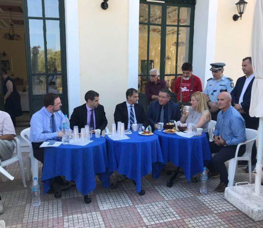 Χάρης Θεοχάρης από Καΐάφα Ηλείας: Στόχος η αναβάθμιση της χώρας στη διεθνή σκακιέρα της κρουαζιέρας- Το Κατάκολο μπορεί να γίνει βασική πύλη εισόδου με το τεράστιο τουριστικό απόθεμα που υπάρχει στην Ηλεία (photos)