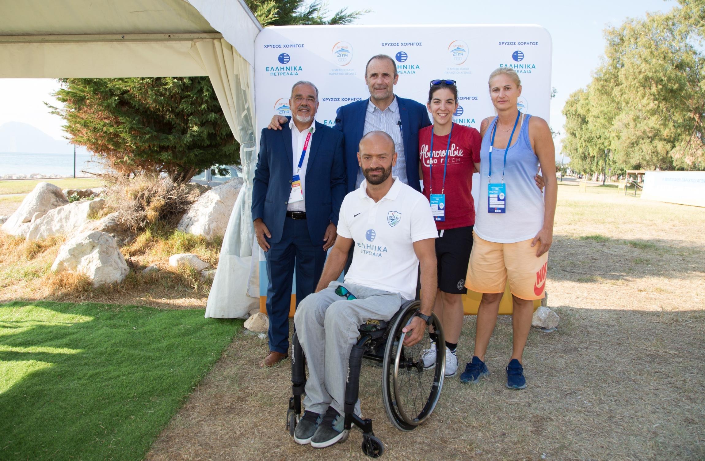 Όμιλος ΕΛΠΕ: Υπερήφανος Χρυσός Χορηγός στους «2ους Μεσογειακούς Παράκτιους Αγώνες - Πάτρα 2019» (photos)