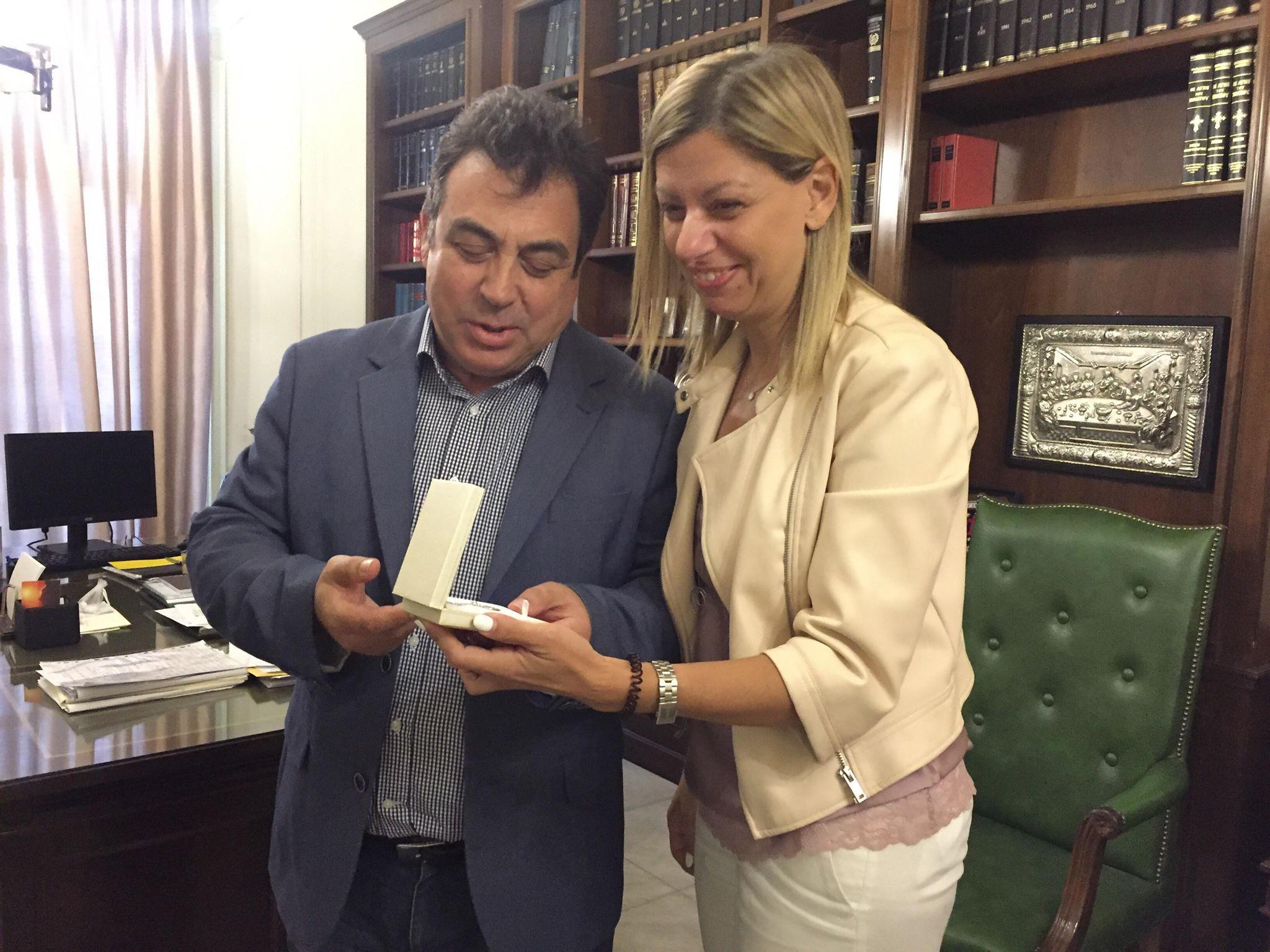 Αντωνακόπουλος- Παπαστεργίου: Πύργος και Τρίκαλα σε στενή επαφή ( photoς-ΒΙΝΤΕΟ)
