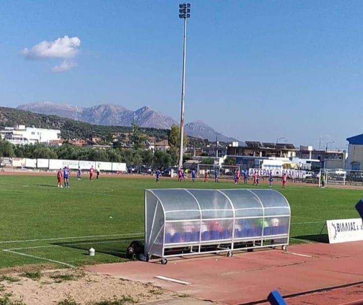Πανηλειακός: Μεγάλο διπλό και σπουδαία εμφάνιση στη Λακωνία - Νίκη με 0-1 επί του Πανγυθεατικού με γκολ του Παπαπέτρου (photos)