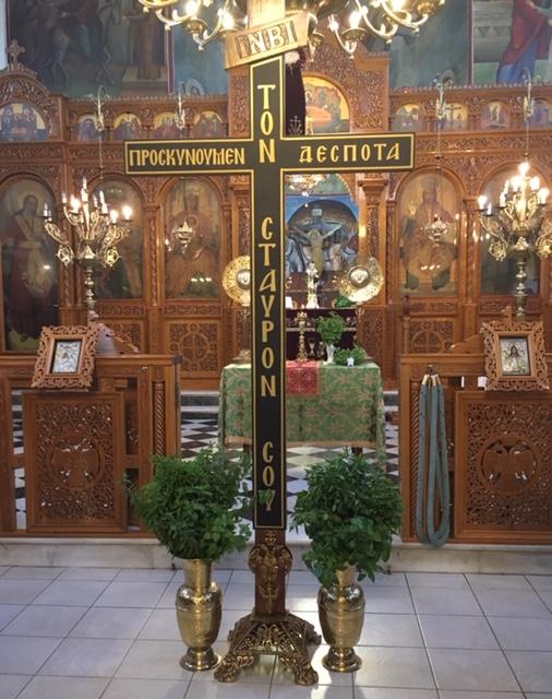 Πύργος: Σε ατμόσφαιρα πνευματικής ανατάσεως, η Ύψωση του Τιμίου Σταυρού, στον Άγιο Σπυρίδωνα Πύργου (photos)