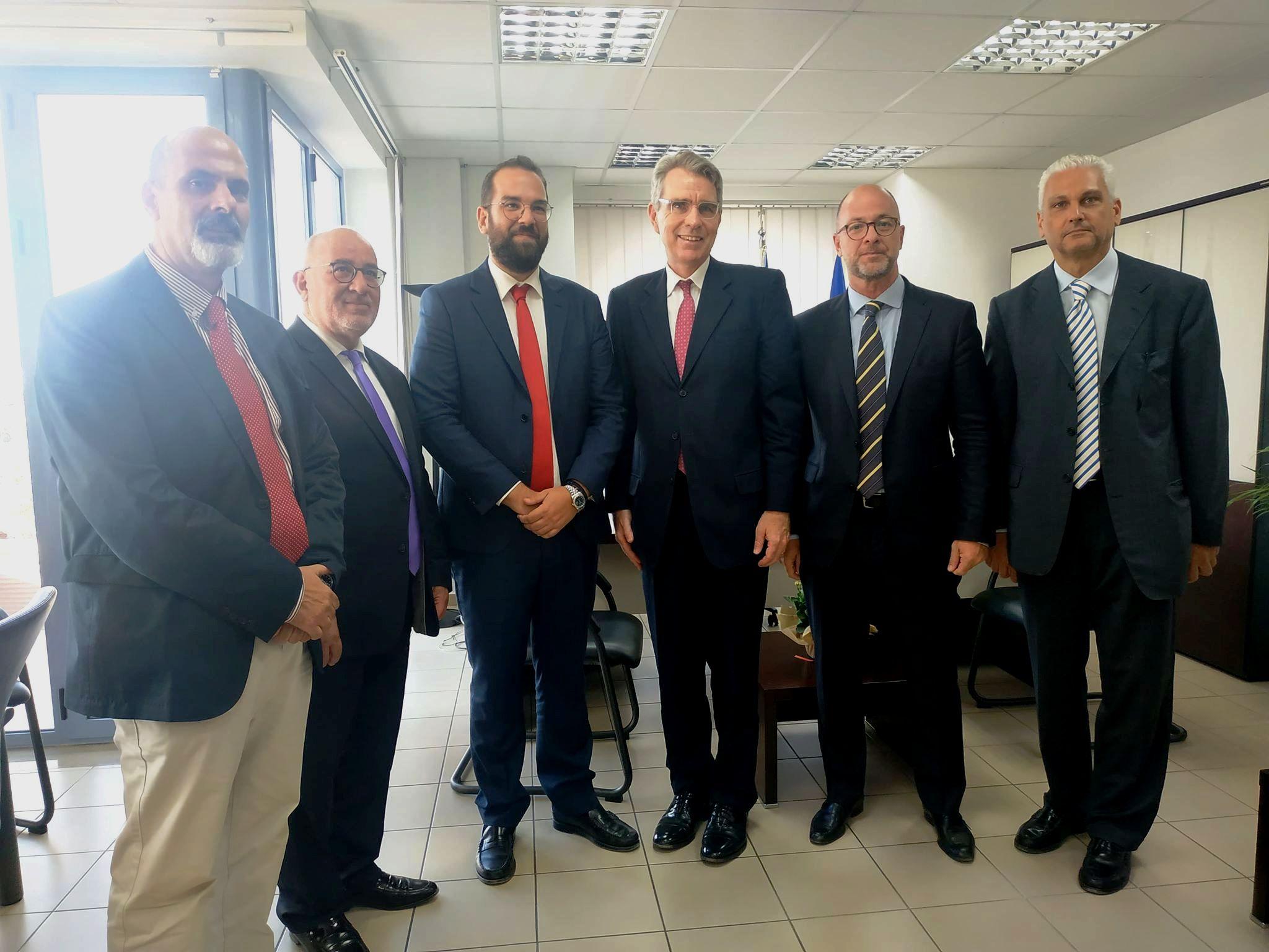 Περιφέρεια Δυτικής Ελλάδας: Συνάντηση Νεκτάριου Φαρμάκη με τον Αμερικανό Πρέσβη Τζέφρι Πάιατ
