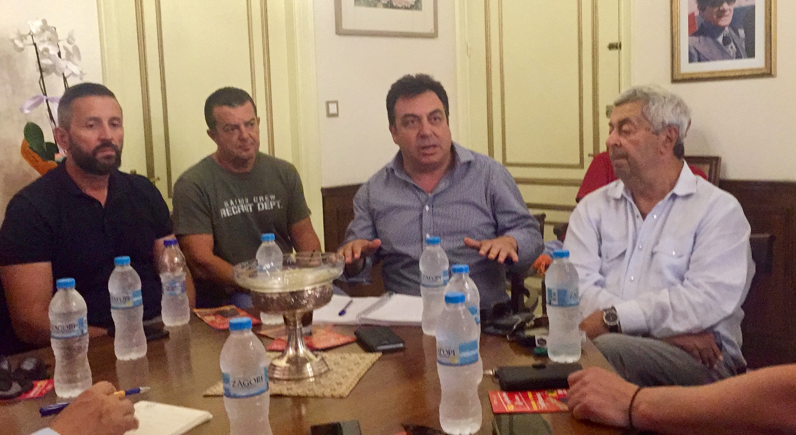 Ο δήμος Πύργου σε τροχιά τουριστικής ανάπτυξης - Συνάντηση Τάκη Αντωνακόπουλου με εκπροσώπους φορέων (photos)