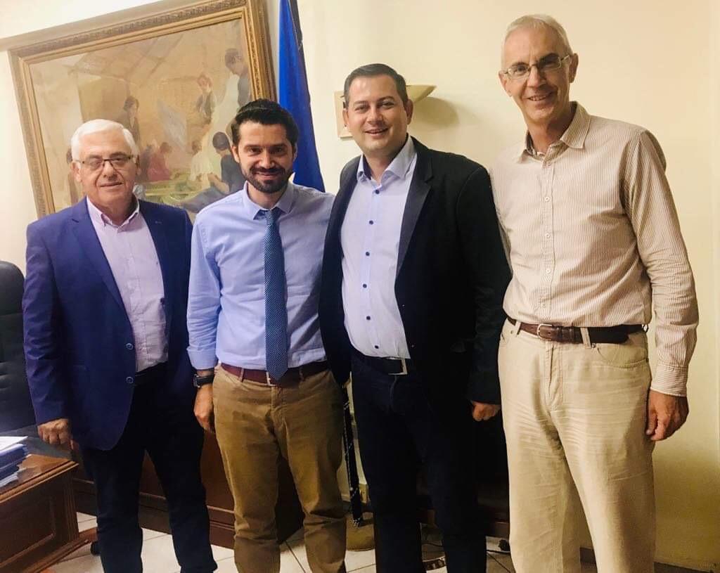 ΠΔΕ: Συναντήσεις του Αντιπεριφερειάρχη Αγροτικής Ανάπτυξης Θ. Βασιλόπουλου με τους Γενικούς Γραμματείς του ΥΠΑΑΤ