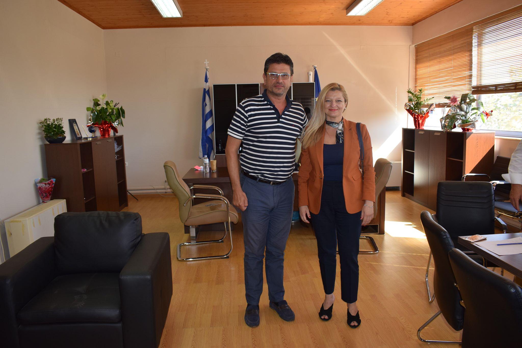Για Ι. Λέντζα και Δ.Θ. Αυγερινοπούλου: Συνάντηση εφ' όλης της ύλης (Photos)