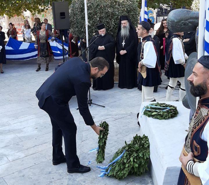 Δήλωση Περιφερειάρχη Δυτ. Ελλάδας Νεκτάριου Φαρμάκη για την 28η Οκτωβρίου