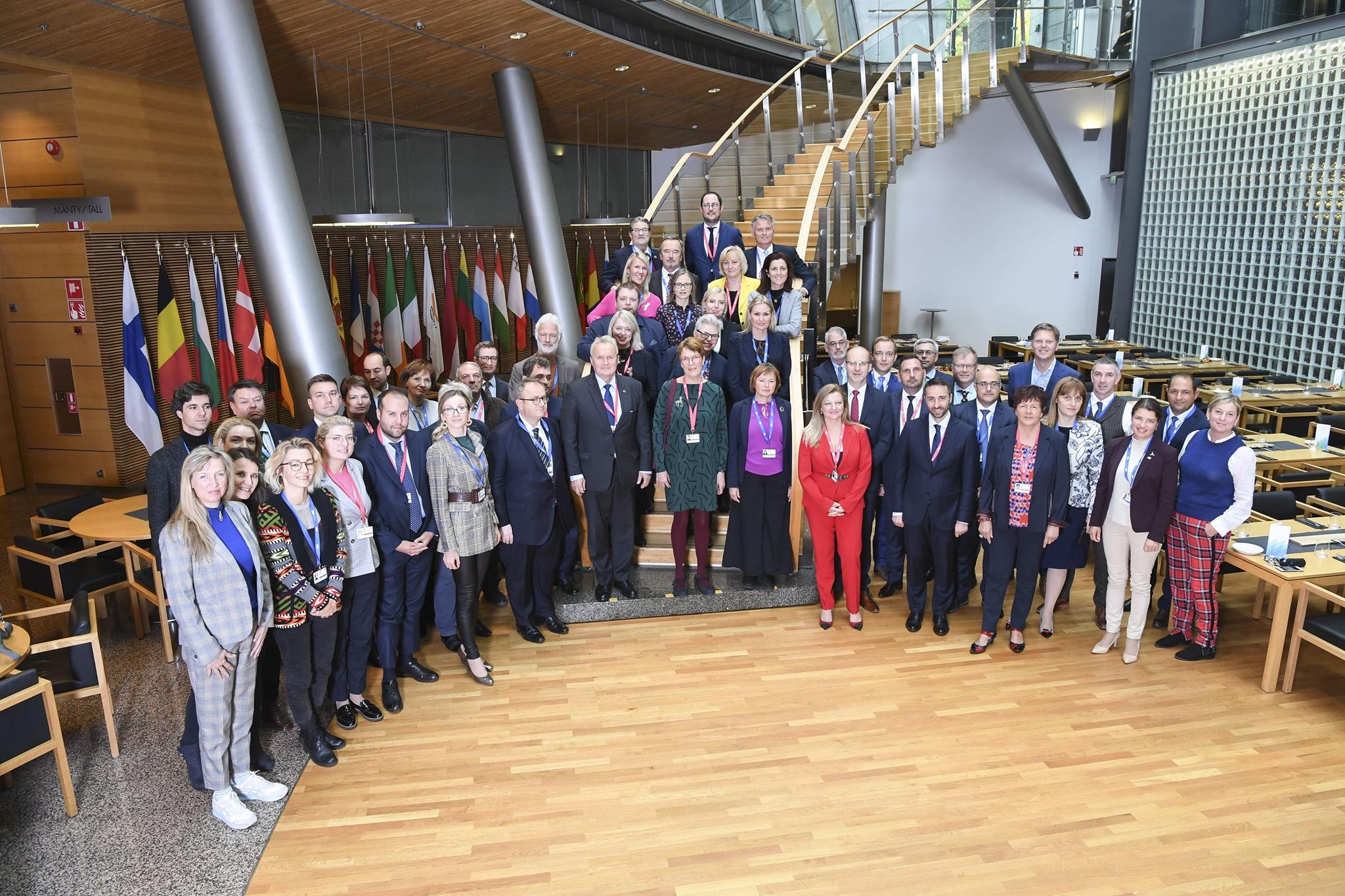 Τη Βουλή των Ελλήνων εκπροσώπησε η Δρ. Διονυσία-Θεοδώρα Αυγερινοπούλου στη Διακοινοβουλευτική Διάσκεψη για την Κλιματική Αλλαγή (Ελσίνκι 6-7 Οκτωβρίου 2019)