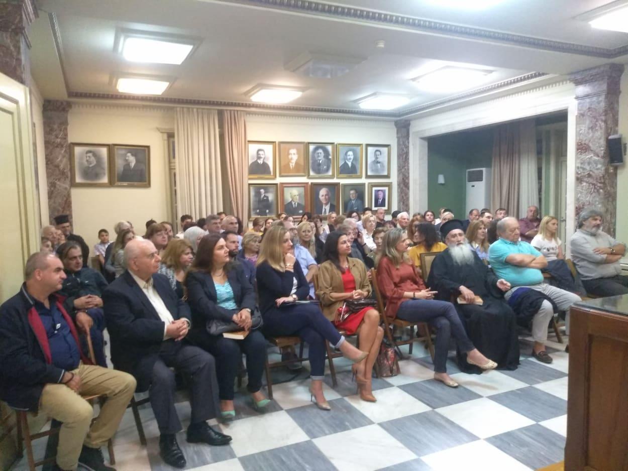 Δήμος Πύργου: Με μεγάλη επιτυχία η παρουσίαση του βιβλίου: «Η Φιλοσοφημένη Γυναίκα» του Καθηγητή Πανεπιστημίου κ. Μιχαήλ Κ. Μαντζανά