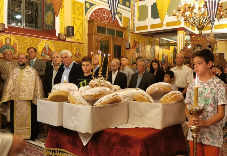 O Ήρωας της Χριστιανικής Πίστεως Άγιος Δημήτριος, εορτάστηκε στον Αγ. Ιωάννη Πύργου (photos)
