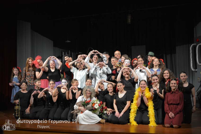 """""""ΗΛΕίασις"""": Στην Αθήνα η θεατρική ομάδα Γυμνασίου-ΓΕΛ Βουνάργου, με δύο παραστάσεις στο έργο «Η μεγάλη παντομίμα» του Ντάριο Φο στο Θέατρο Βεάκη"""