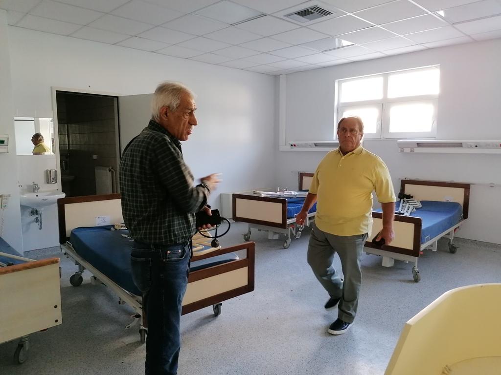 Γ. Λυμπέρης «Από 1η Νοέμβριου το νοσοκομείο Αμαλιάδας θα εφημερεύει καθημερινά»