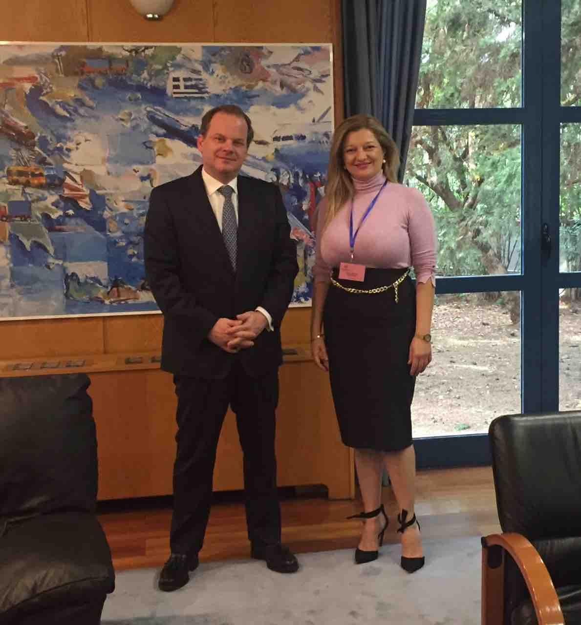Συνάντηση ουσίας Αυγερινοπούλου με τον Υπουργό Υποδομών & Μεταφορών, κ. Καραμανλή, για Ολυμπία Οδό- Τι συζητήθηκε