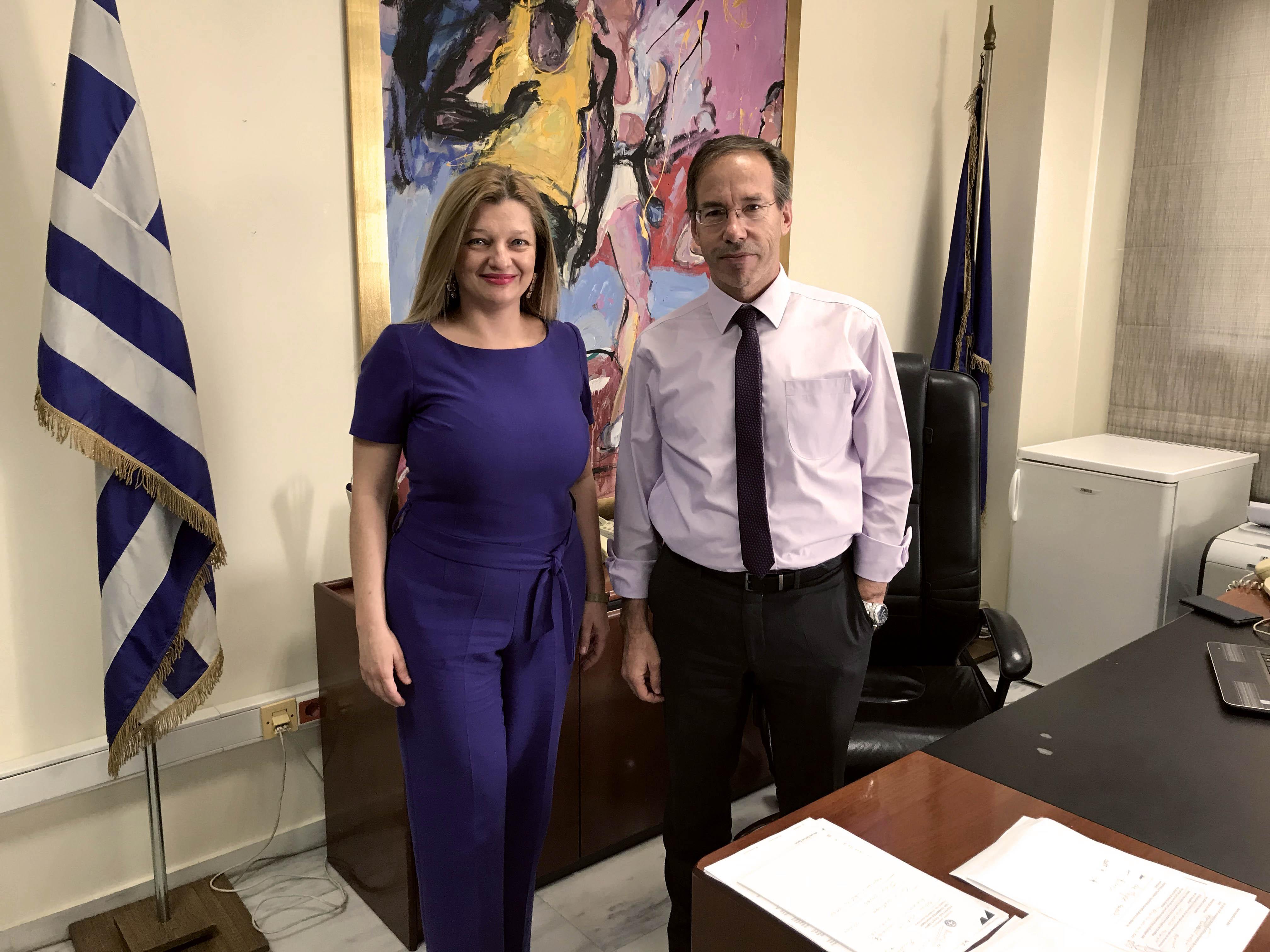 Σημαντική συνάντηση Αυγερινοπούλου με Αυγενάκη και Μαυρωτά για τον αθλητισμό στην Ηλεία (photos)