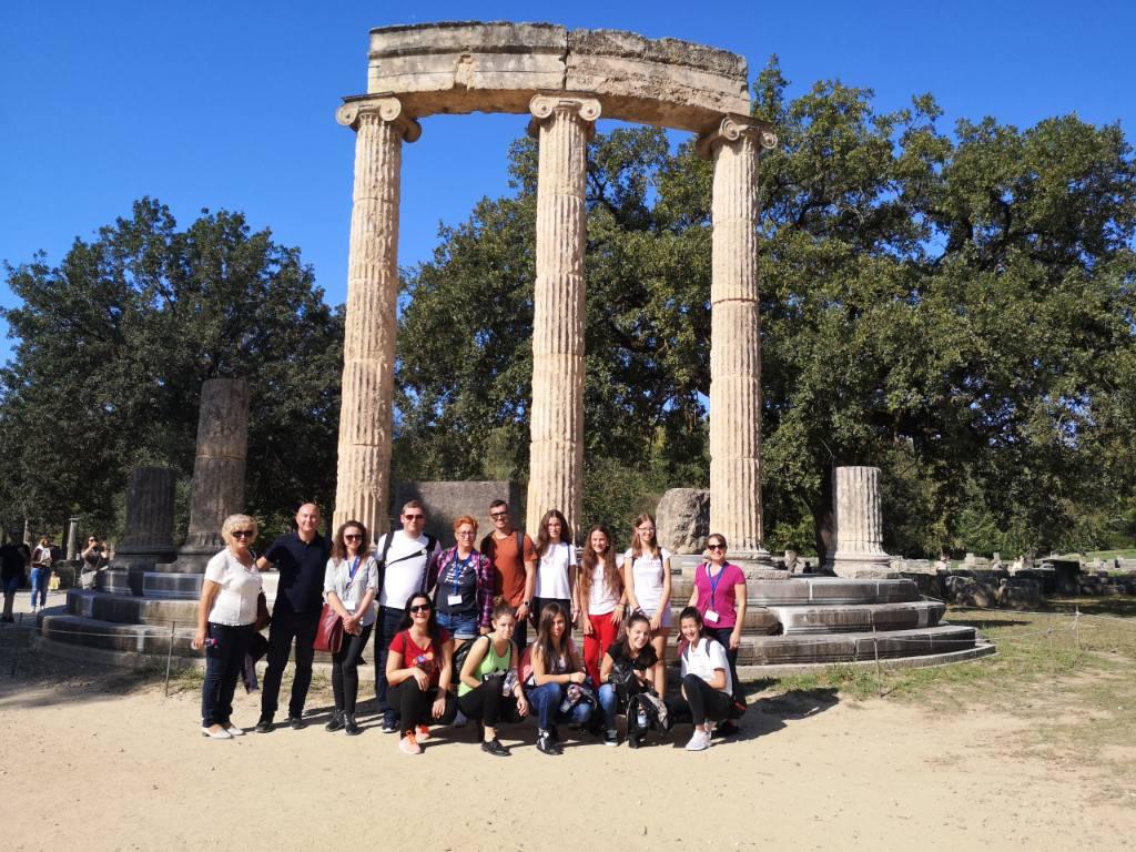 Μήνυμα Ειρήνης από την Αρχαία Ολυμπία (photos)