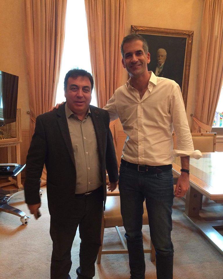 Συνάντηση Δημάρχου Πύργου Τάκη Αντωνακόπουλου με τον Δήμαρχο Αθηναίων Κώστα Μπακογιάννη- Σε κλίμα συνεργασίας και ανταλλαγής ιδεών