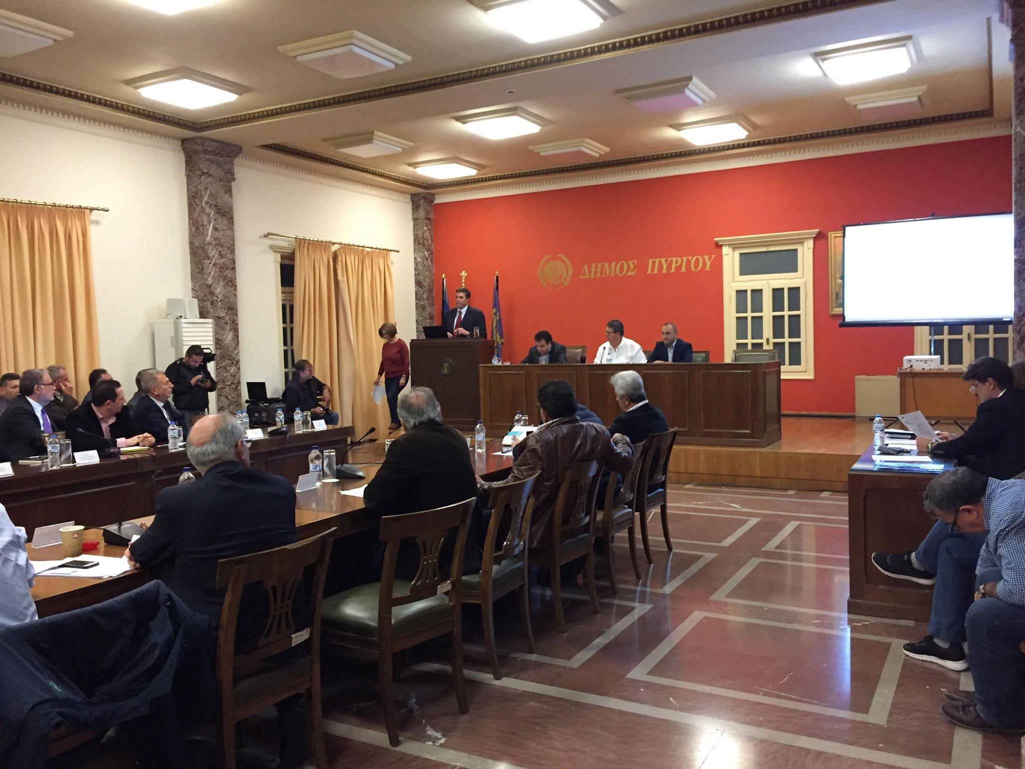 Δήμος Πύργου: Εκπρόσωποι της «Energean» ενημερώνουν το Δημοτικό Συμβούλιο για τους υδρογονάνθρακες στο Κατάκολο (photos)-(ΔΕΙΤΕ ΖΩΝΤΑΝΑ- LIVE)