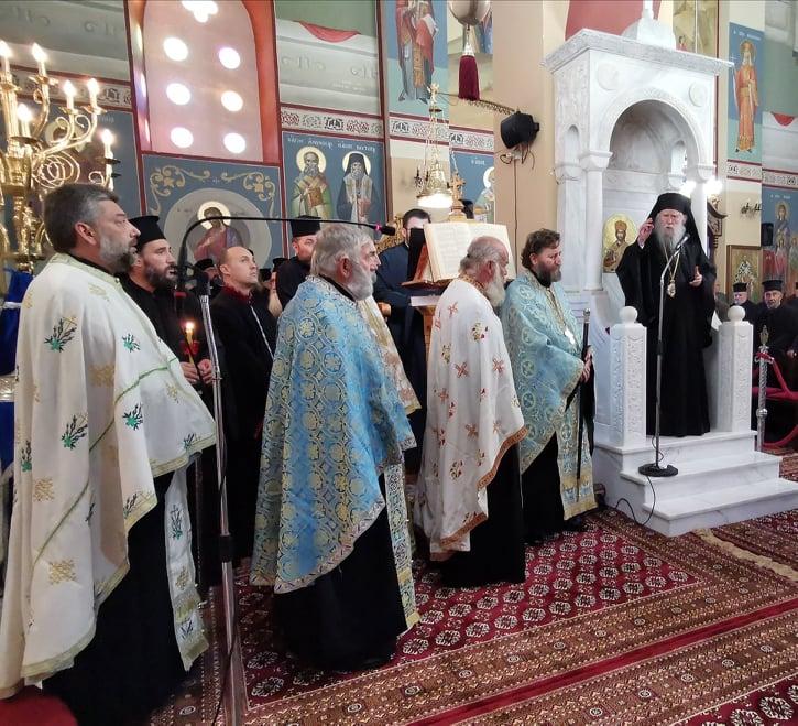 Πύργος: Ιερατική Σύναξη με ομιλητή τον π. Θεμιστοκλή Χριστοδούλου, στην Ιερά Μητρόπολη Ηλείας (photos)