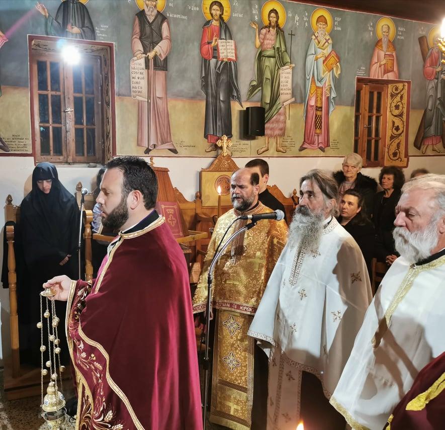 Πύργος: Ο Μιμητής του Θείου Πάθους Απόστολος Ανδρέας, εορτάσθηκε στην Σκαφιδιά Πύργου (photos)