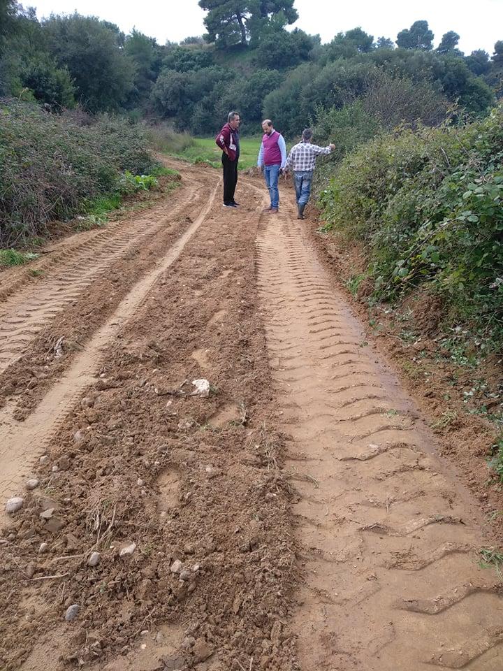 Σε πλήρη εξέλιξη τα έργα αγροτικής οδοποιίας στο Δήμο Ήλιδας (Photos)