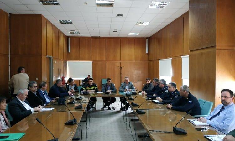 Πύργος: Συνεδρίασε χθες εκτάκτως στην ΠΕ Ηλείας το Συντονιστικό Όργανο Πολιτικής Προστασίας ενόψει του νέου κύματος κακοκαιρίας