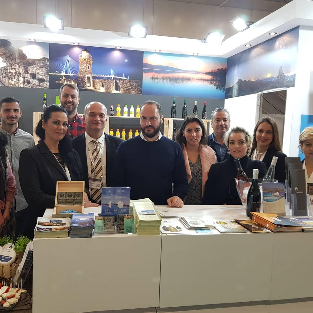 ΠΔΕ: H Δυτική Ελλάδα στην Athens International Tourism Expo 2019