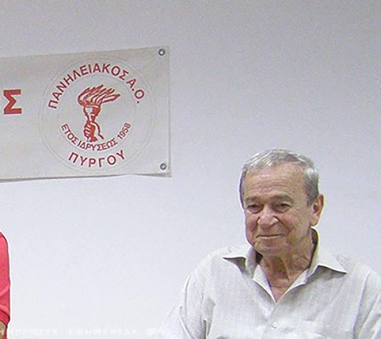 Θλίψη στον Πύργο: Έφυγε ξαφνικά από τη ζωή ο Χρήστος Χίτος, πρόεδρος του Πανηλειακού και παλαίμαχος ποδοσφαιριστής της ομάδας- Την Πέμπτη η κηδεία του