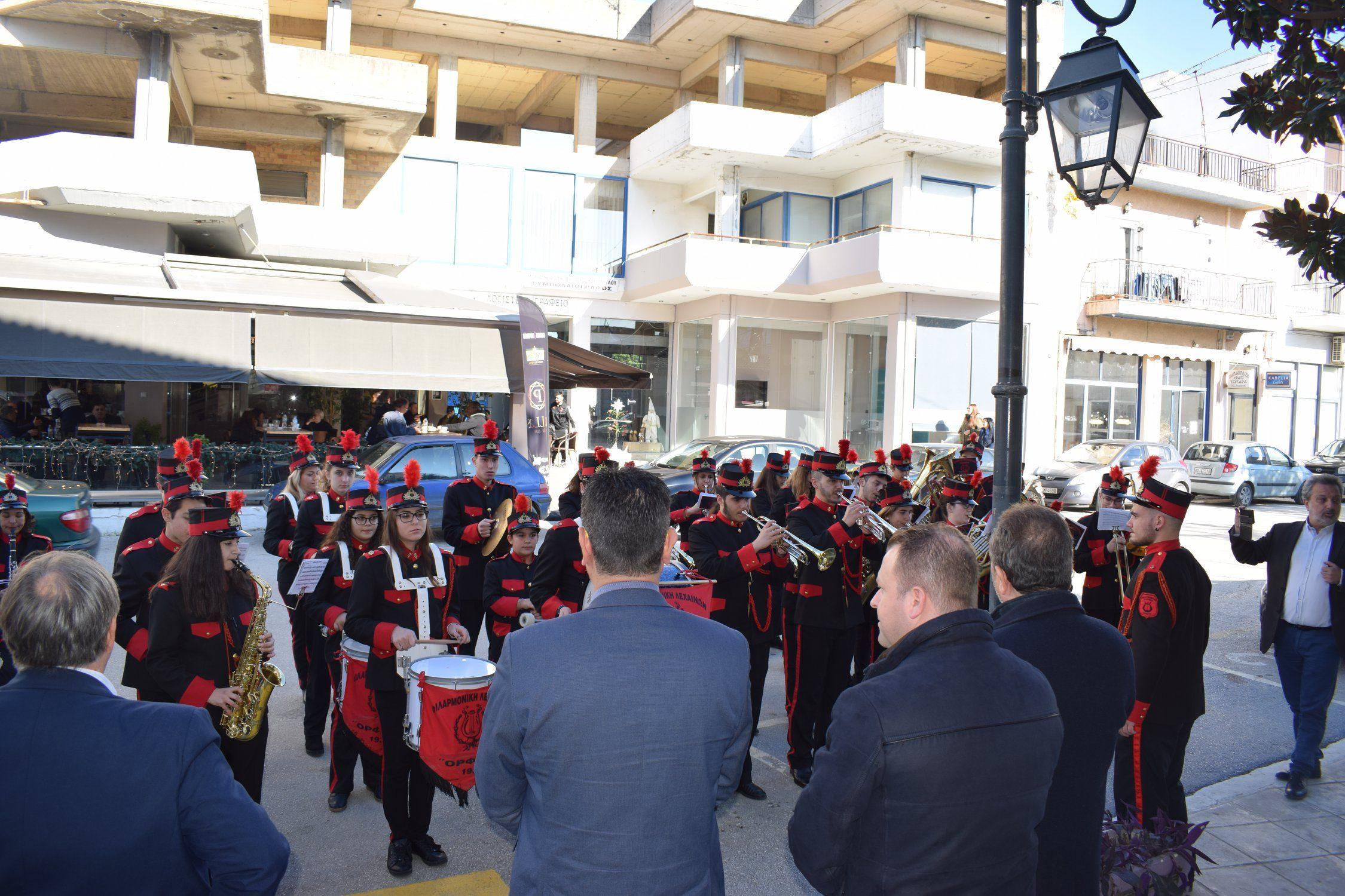 Λεχαινά: Πρωτοχρονιάτικα κάλαντα στον Δήμαρχο Ανδραβίδας-Κυλλήνης Γιάννη Λέντζα