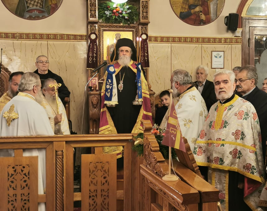 To «Καύχημα των Ορθοδόξων», εορτάστηκε περίλαμπρα, στον Ι. Ν. Αγίου Σπυρίδωνος Πύργου (photos)