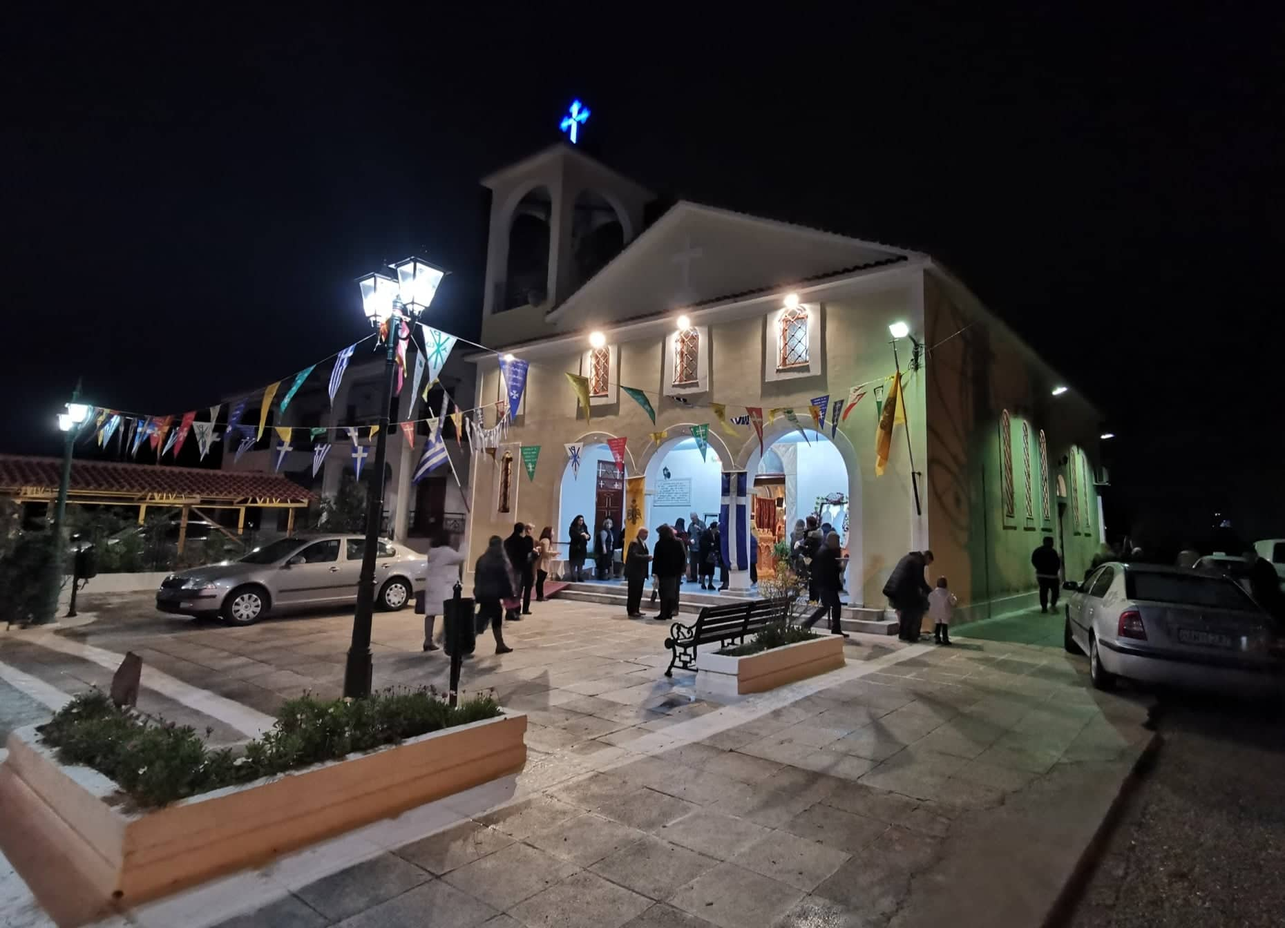 Πύργος: Στον Ι. Ναό Αγίου Ελευθερίου  εορτάστηκε ιεροπρεπώς ο «βοηθός των επίτοκων Γυναικών», Ιερομάρτυς Ελευθέριος (photos)