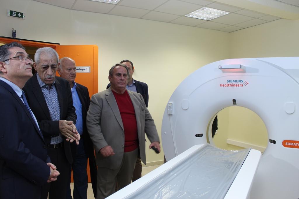 «Ξημέρωσε μια πολύ καλή ημέρα για την Αμαλιάδα!» - Σε λειτουργία ο αξονικός τομογράφος και το ψηφιακό ακτινολογικό στο Τ.Ε.Π. της νέας πτέρυγας του νοσοκομείου της πόλης (photos)