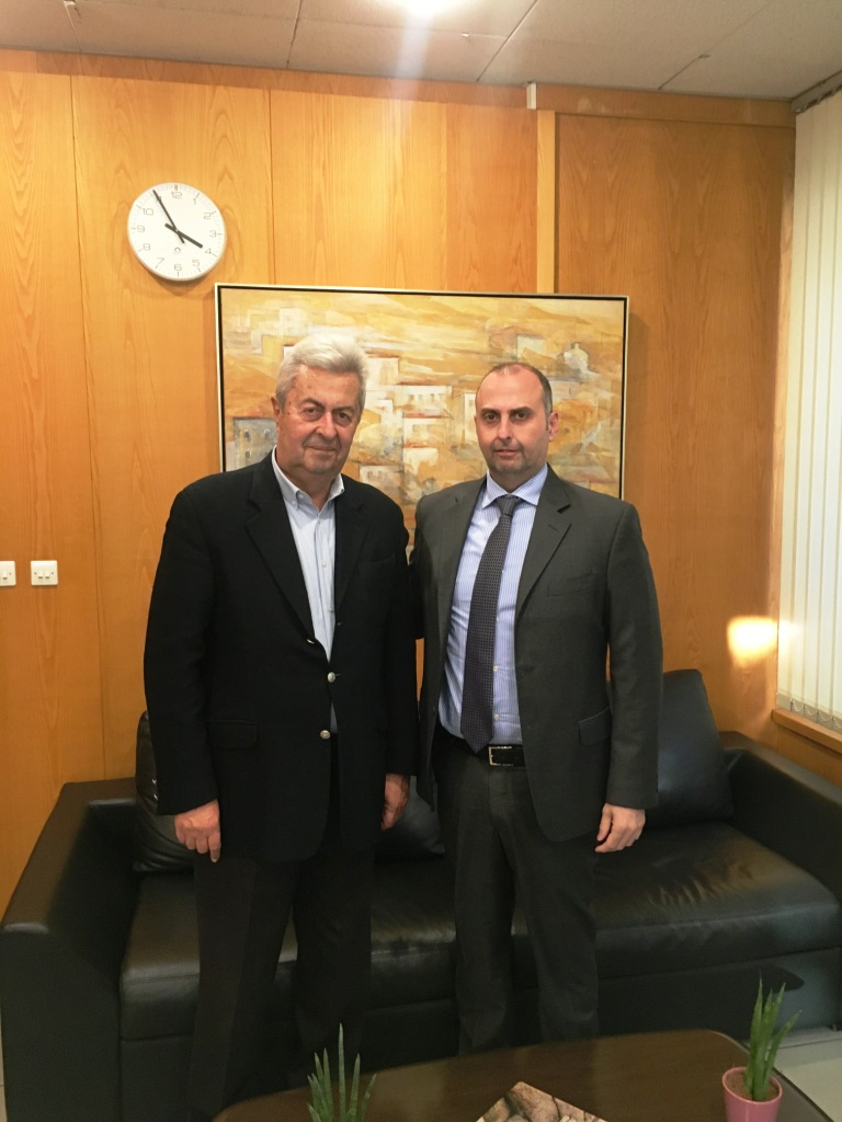 Συνάντηση του προέδρου Επιμελητηρίου Ηλείας Κ. Νίκολούτσου με τον ΓΓ Υποδομών Γιώργο Καραγιάννη και τον πρόεδρο του ΟΣΕ Κ. Σπηλιόπουλο, για τις συγκοινωνιακές υποδομές της Ηλείας