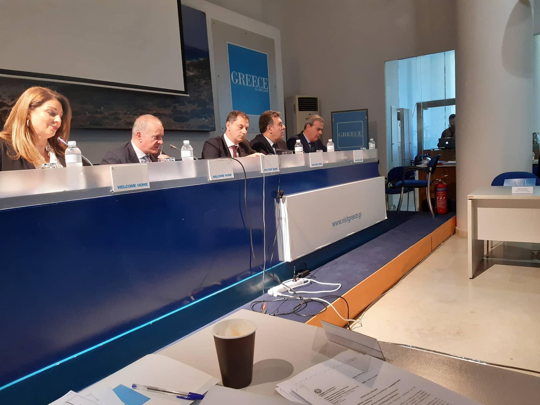 Ο Νίκος Κοροβέσης στο 1ο Συμβούλιο Τουρισμού: Έθεσε το Π.Δ. για Κυπαρισσιακό, την ανάδειξη της Ολυμπίας  και συμμετοχή στο πρόγραμμα συνεργασίας με Κίνα (photos)