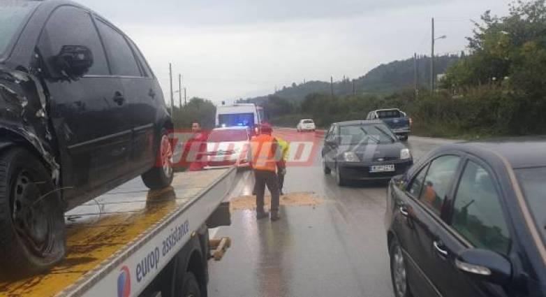 """Πατρών- Πύργου: Δύο ακόμη τροχαία με δύο τραυματίες στην """"εθνική καρμανιόλα""""! (photos)"""