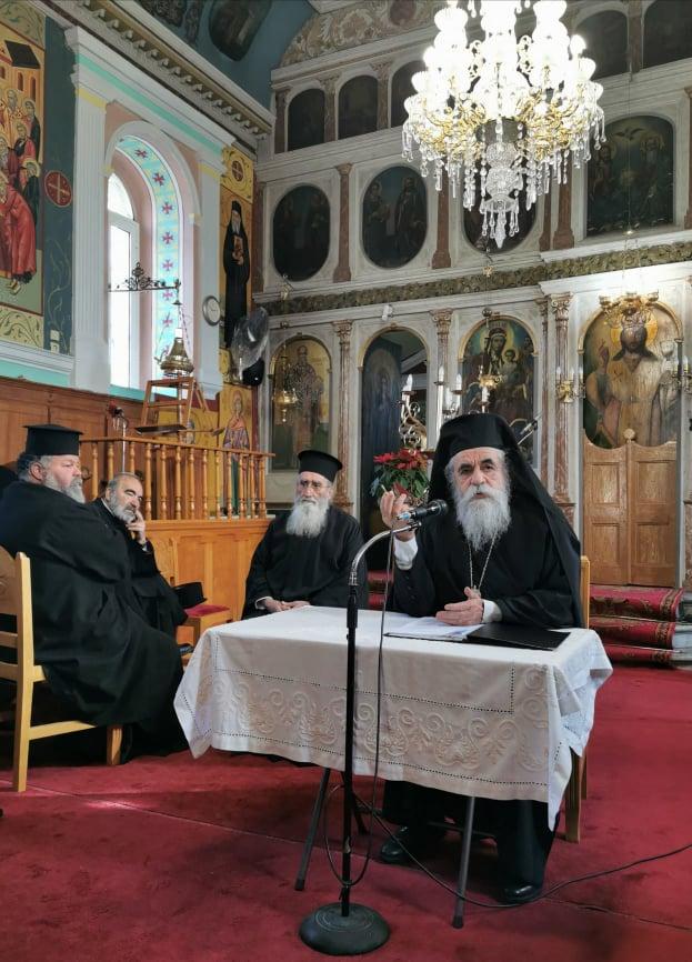 Ιερατική Σύναξη στο Βούναργο Ηλείας με θέμα: «Εκκλησία και Νέοι»