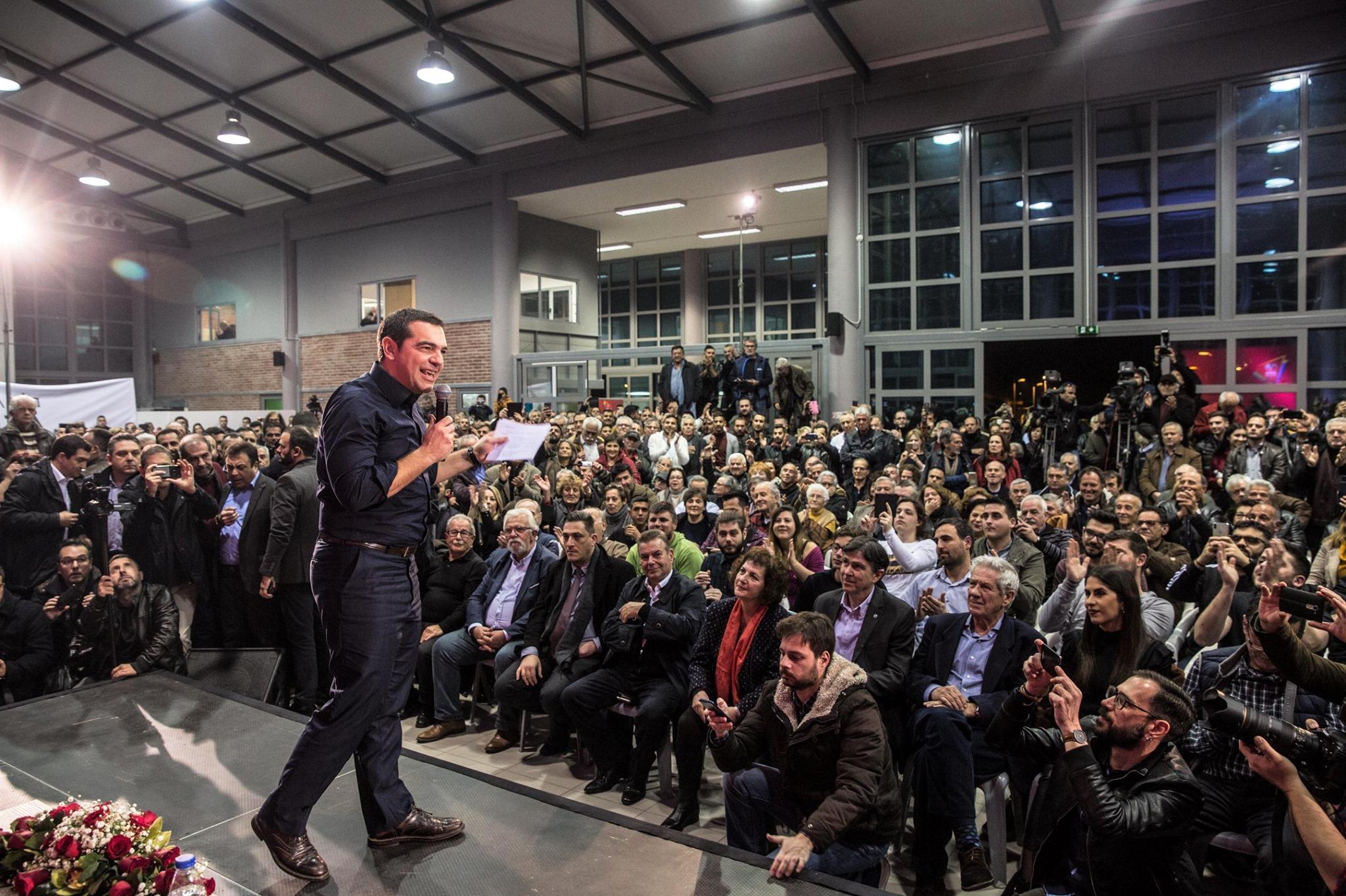 Ο Αλ. Τσίπρας από τον Πύργο: «Aρχίζουν να ξεθωριάζουν οι υποσχέσεις της ΝΔ και διαφαίνεται το σχέδιο της εξαπάτησης του ελληνικού λαού - Τι είπε για Πάτρα-Πύργος, Hot spot  και ΤΕΦΑΑ στον Πύργο (ΒΙΝΤΕΟ - photos)