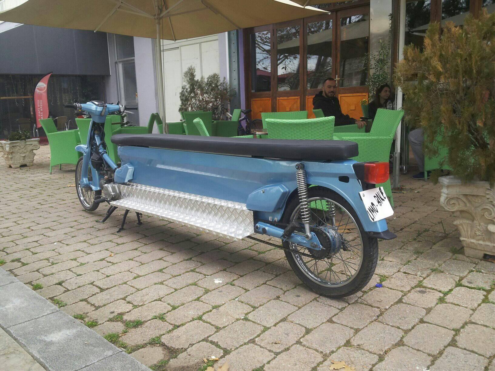 Το Limo Bike της Ανδραβίδας!
