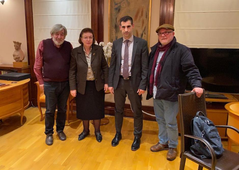 Θετικές ειδήσεις από τη συνάντηση Αντιπεριφερειάρχη ΠΕ Ηλείας κ. Γιαννόπουλου με Υπουργό Πολιτισμού Λίνα Μενδώνη