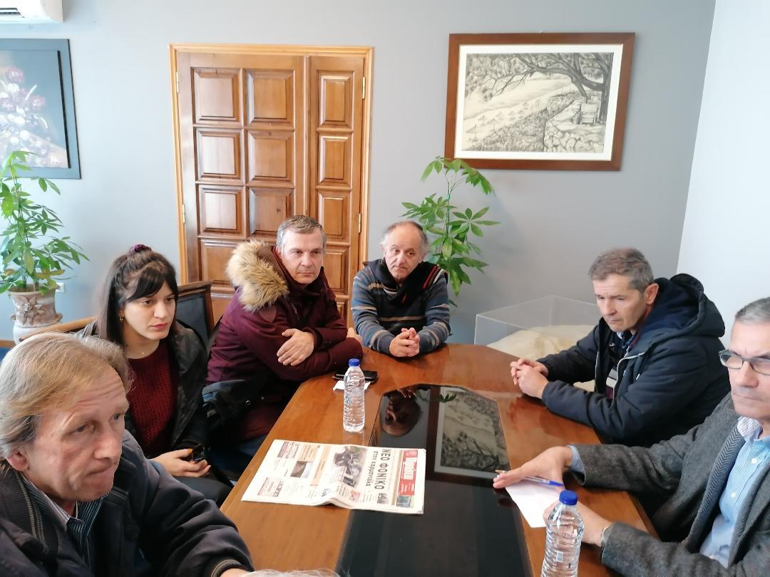 Δήμος Ήλιδας: Συνάντηση Λυμπέρη - Νικολόπουλου με Σύλλογο Δασκάλων Νηπιαγωγών Αμαλιάδας (photos)