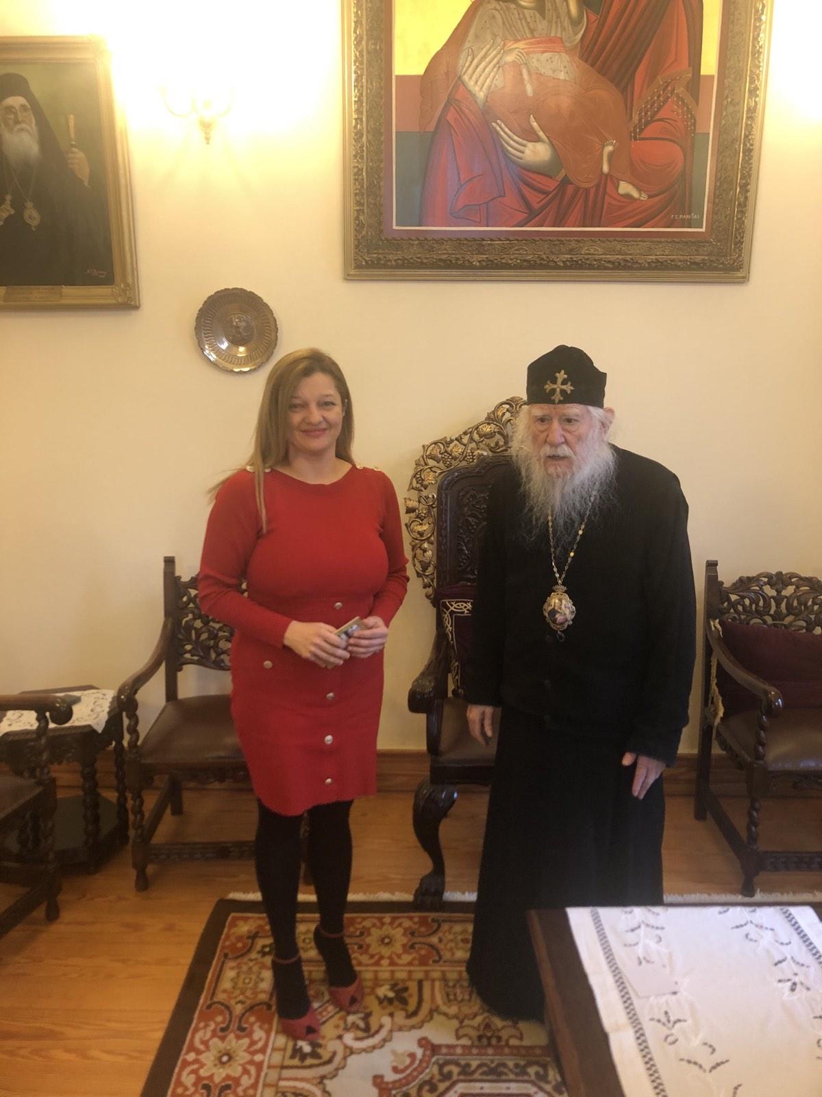 Ουσιαστική συνάντηση Αυγερινοπούλου – Μιχαηλίδου για την ενίσχυση των ιδρυμάτων της Ιεράς Μητροπόλεως Ηλείας