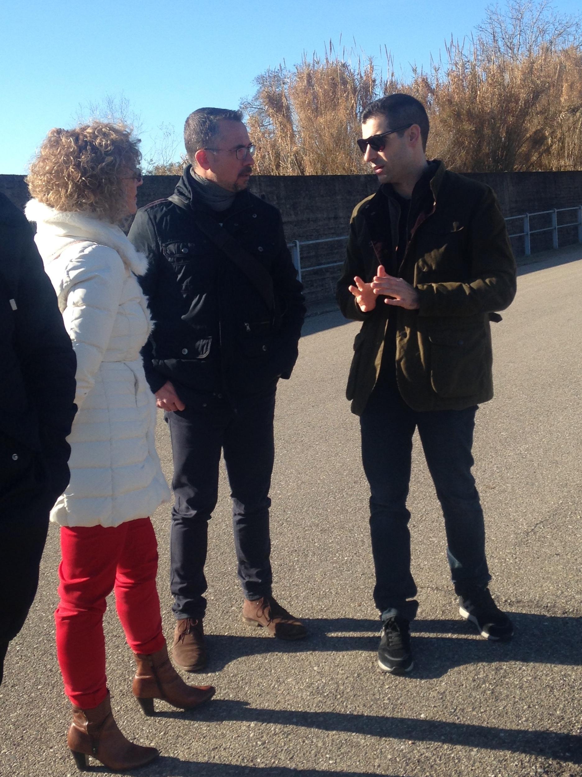 ΠΕ Ηλείας: Αυτοψία του Αντιπεριφερειάρχη Βασίλη Γιαννόπουλου στα αντιπλημμυρικά έργα στον Ενιπέα ποταμό (photos)