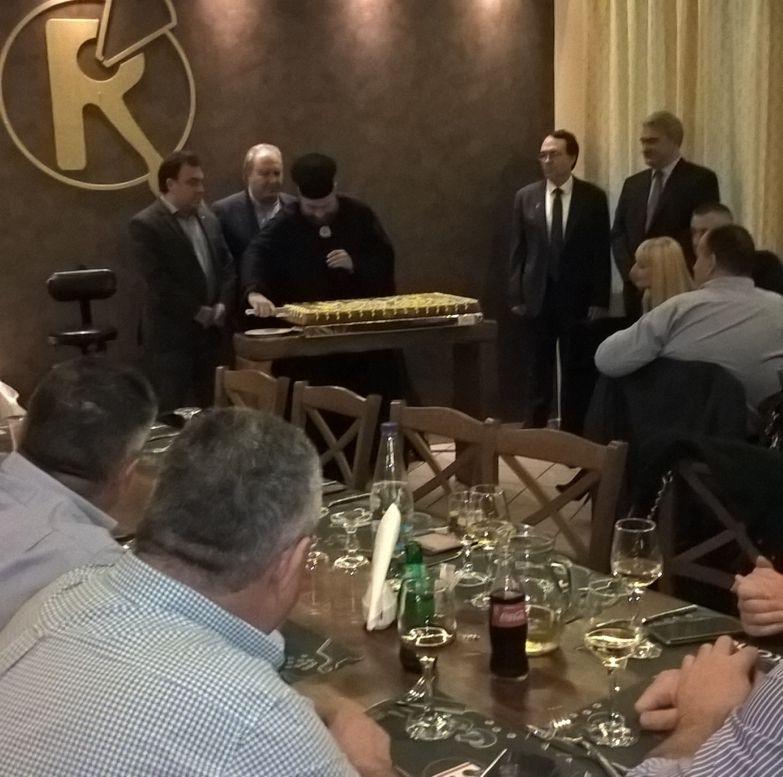 Πύργος: Έκοψε την πίτα του ο Ιατρικός Σύλλογος Πύργου - Ολυμπίας