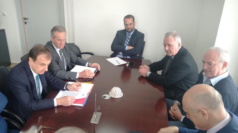 """Ν. Φαρμάκης σε συνάντηση με ΣΕΒ: Επένδυση 15εκ. ευρώ της """"Γιώτης"""" στο Αγρίνιο!- «Έτοιμοι να συνεργαστούμε με τους επιχειρηματικούς φορείς ώστε να γίνει και πάλι ο τόπος μας, τόπος ευημερίας»"""