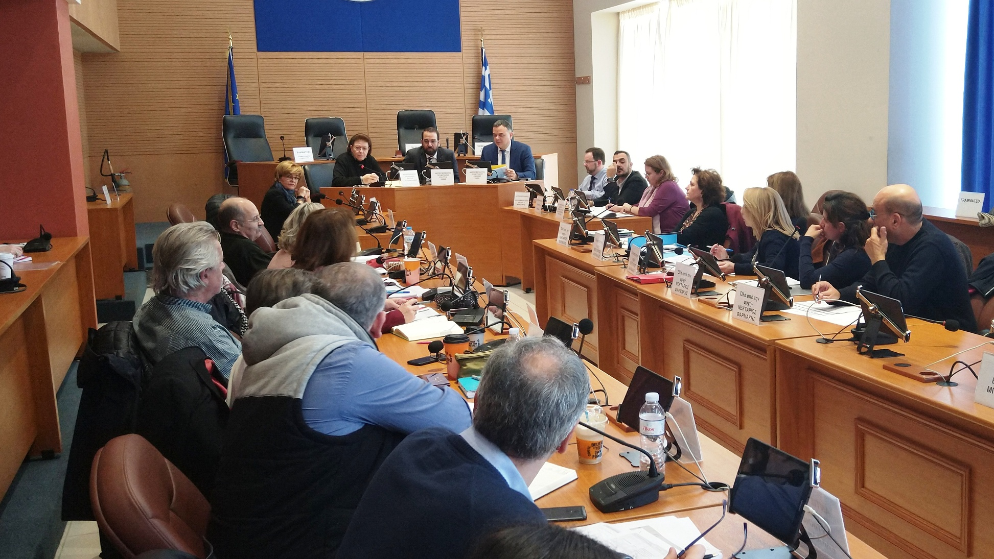 ΠΔΕ: Σύσκεψη στην Περιφέρεια με την υπουργό Πολιτισμού Λ. Μενδώνη και τον ΓΓ Πολιτισμού Γ. Διδασκάλου- Ν. Φαρμάκης: «Στόχος, να παραδώσουμε στον πολίτη της Δυτικής Ελλάδας, έργα που θα τον κάνουν περήφανο για την ιστορία και τον πολιτισμό του»