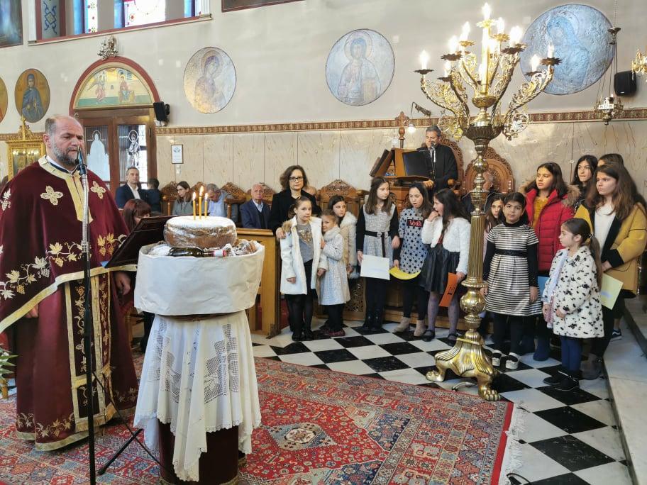 Πύργος: Εορτάστηκε την Κυριακή 02/02, εορτή της Υπαπαντής του Σωτήρος και η Ελληνορθόδοξη εορτή της Μητέρας στον Ιερό Ναό Αγίου Σπυρίδωνος