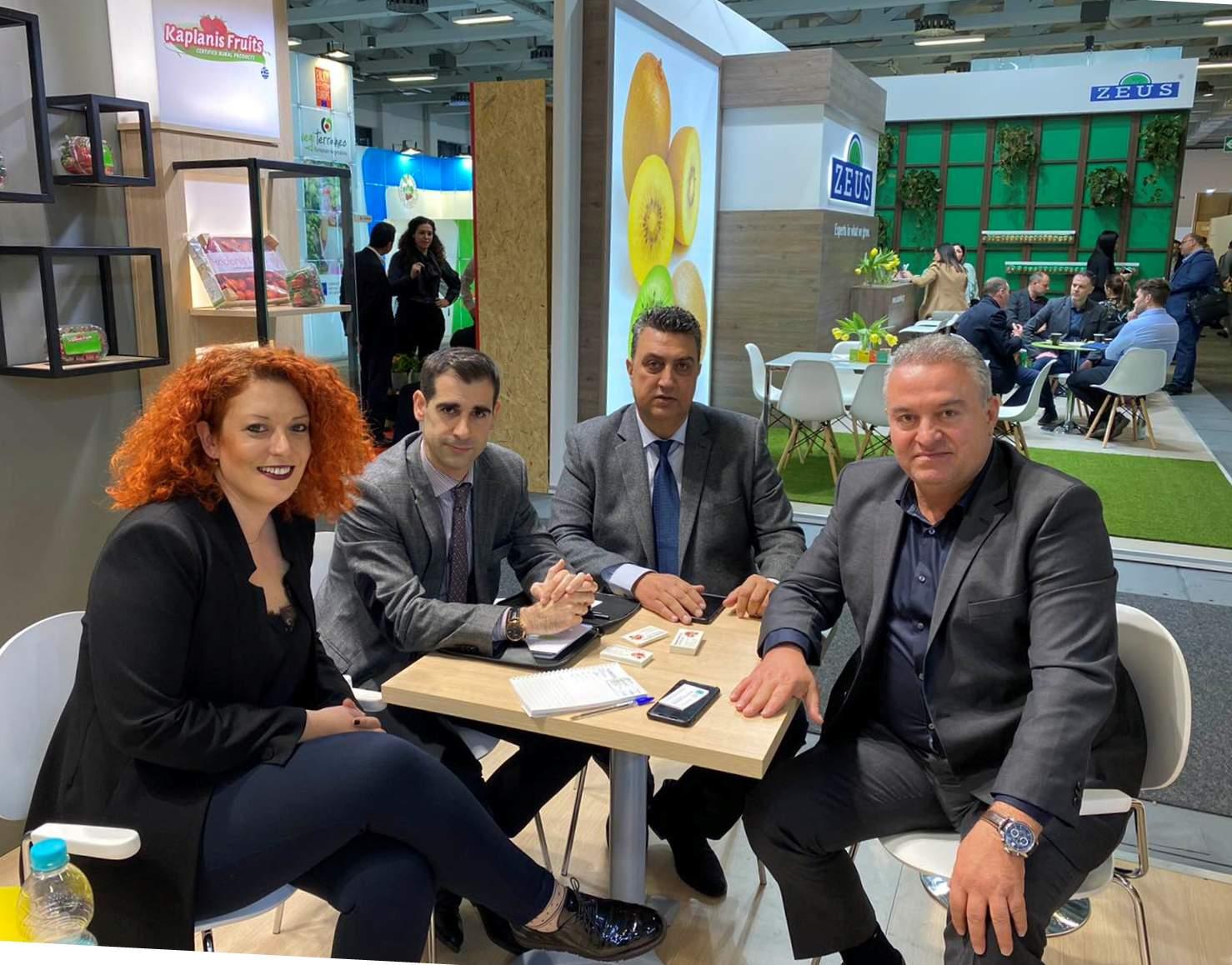 """Π.Ε. Ηλείας: Επίσκεψη Αντιπεριφερειάρχη Β. Γιαννόπουλου στην Διεθνή Έκθεση """"FRUIT LOGISTICA"""" στο Βερολίνο (Photos)"""