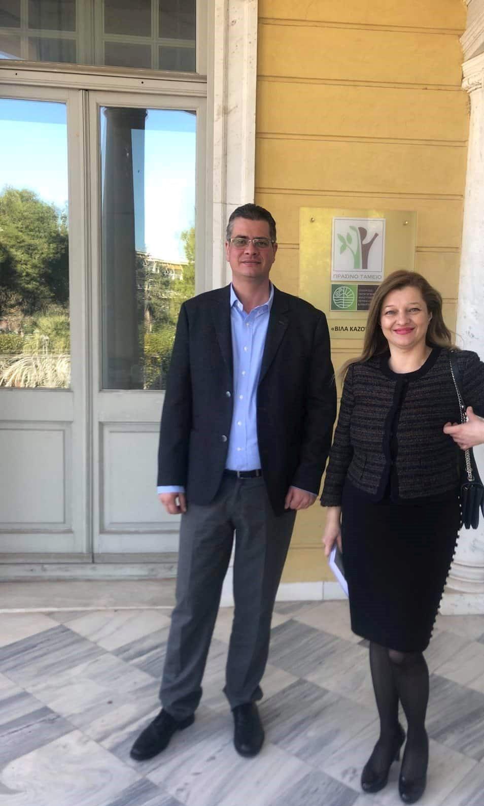 Αυγερινοπούλου: Περισσότερα κονδύλια από το Πράσινο Ταμείο